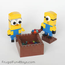 Blueprints To Build A House by Lego Minions Building Instructions