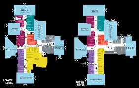 mall map of barton creek square a simon mall austin tx