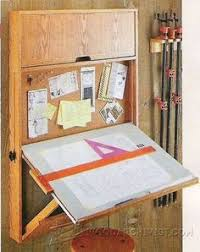Wall Mounted Shelves Wood Plans by Shop Drafting Table Wall Mounted Unit Is Sturdy Adjustable And