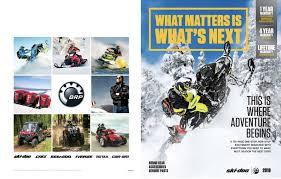 ski doo brochures ski doo usa