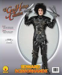 Mens Halloween Costumes Amazon Amazon Edward Scissorhands Costume Black Standard Clothing