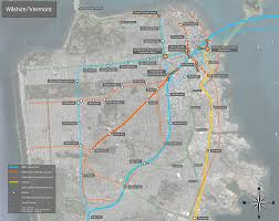 Sf Metro Map by Transbay Transit Center Wilshire Vermont
