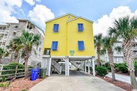 Raised Beach House by South Carolina Waterfront Property In Myrtle Beach Surfside Beach