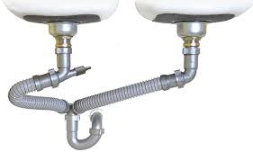 Snappy Trap   Drain Kit For Double Kitchen Sinks  Amazoncom - Kitchen sink plumbing kit