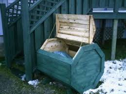 Free Wooden Garbage Box Plans by Plans How To Make A Octagon Wood Garbage Storage Recycle Box
