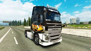 volvo truck design skin lamborghini gallardo to the volvo trucks for euro truck