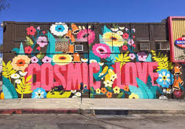impermanent art the final mural in our atomic blonde campaign cosmic love new from dabsmyla in hollywood