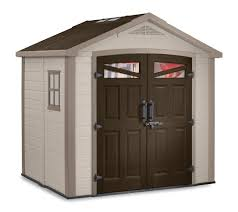 Rubbermaid Garden Tool Storage Shed by Keter Bellevue 8x6 Plastic Storage Shed 17190650 On Sale Now