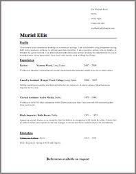 simple cv format   curriculum vitae template Template   How to get Taller