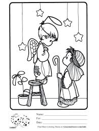 precious moments christmas coloring pages shimosoku biz