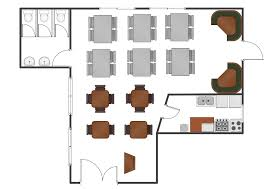 Easy Floor Plan Software Mac by Restaurant Floor Plans Software How To Create Restaurant Floor