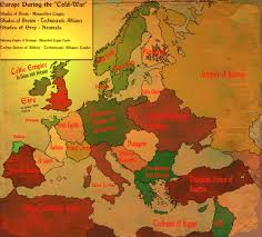 Map Of Europe During The Cold War by Ah Map Challenge Iii Alternate History Discussion