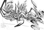 3D Drawings to Sketch Graffiti: Daim Sketches black books graffiti ... graffiti-alphabet-letters.com