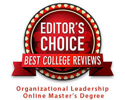 The    Best Online Masters in Organizational Leadership  BCR    OrganizeLeadership Masters badge