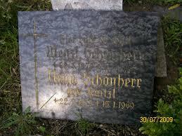Grab von Anna Schönherr (geb. Kaitzl) (22.02.1883-15.01.1969 ... - bd170