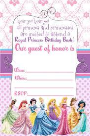Create Invitation Card Free Disney Princess Invitation Cards Festival Tech Com