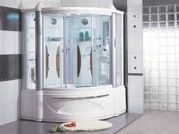 Jetted Tub Shower Combo Corner Bathtub Shower Combo 50 Bathroom Photo With Corner