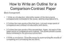 How to Write a Compare and Contrast Essay  with Pictures  Essay