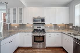 White Subway Tile Backsplash Ideas by White Subway Tile In Kitchen Exquisite White Subway Tile Kitchen
