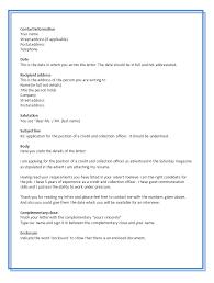 Sample Job Application Cover Letter  sample application cover