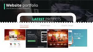 Powerpoint Portfolio Examples Web Design U0026 Development Powerpoint Presentation On Behance