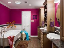 Beige And Black Bathroom Ideas Bold Bathroom Colors That Make A Statement Hgtv U0027s Decorating