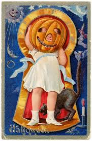 free printable digital image design resource vintage halloween
