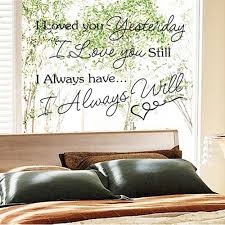 removable room decal stickers home decoration diy english letter i