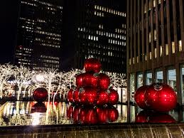 pictures and stories from a snowy new york city christmas trip