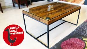 Simple Coffee Table by How To Build A Simple Coffee Table Youtube