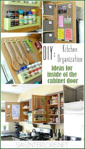 How To Measure Kitchen Cabinet Doors Kitchen Organization Ideas For The Inside Of The Cabinet Doors