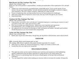 Resume Profile Section Examples by What To Write In Profile Section Of Resume Free Resume Example