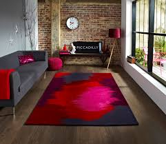 Funky Rugs Funky Art Red Grey Rugs Martin Phillips Carpets Martin