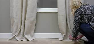 tips to choosing beautiful pinch pleat curtains tiny video tips 4 ways to style puddled curtains the finishing