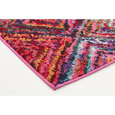 Coloured Rug Modern Retro Bright Rugs Free Shipping Australia Wide Great