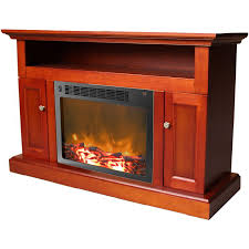 50 Electric Fireplace by Sorrento Electric Fireplace With 47 In Cherrywood Mantel