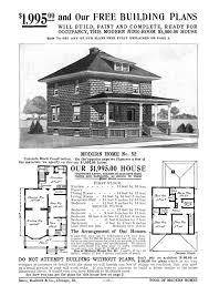 american 4 square house plans house plans