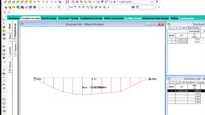 analysis and design of concrete beam in staad pro v8i ss5 staad