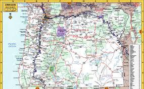 Newport Oregon Map by Oregon Map Oregon State Map Oregon State Road Map Map Of Oregon
