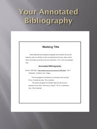 Free MLA Annotated Bibliography Example   PDF     Page s