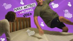 purple bed amazon black friday purple mattress unboxing video over 215 000 views youtube
