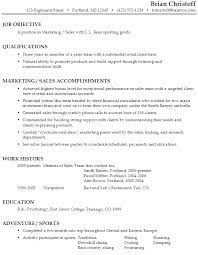 see larger sample Resume