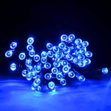 Blue Led String Lights by Home Lighting Prepossessing Outdoor Multi Use Solar String