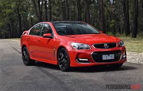 holden 2016 holden commodore ss v redline vf ii review video
