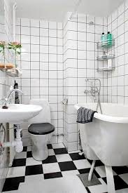 Black And White Small Bathroom Ideas 16 Best Small Bathroom Tile Ideas Images On Pinterest Bathroom