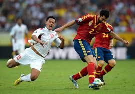 Pertandingan Spanyol vs Tahiti Piala Konfederasi