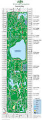 Map New York City by New York Central Park Map