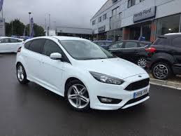 Ford Focus Colours Used Ford Focus Zetec S White Cars For Sale Motors Co Uk