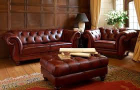 Chesterfield Sofa Leather by Chesterfield Sofa Leather 2 Seater Brown Heathcote