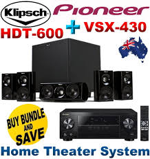 5 1 home theater system new klipsch hdt 600 home theater system pioneer vsx 430 5 1